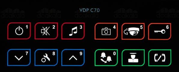 کلید های آیفون تکنما C70
